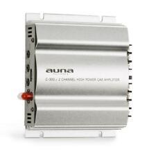 Auna C300.2 2 Canaux Amplificateur - Argenté