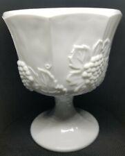 Vintage Planter; Harvest Milk Glass by Colony [Indiana Colony]
