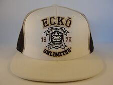 Ecko Unltd Fitted Hat Cap Size 7 3/8 Ivory Brown