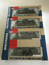 HO SCALE WALTHERS - FOUR PROCOR FUNNEL FLOW TANK CARS