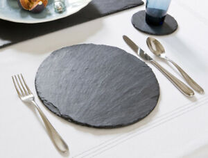 Natural Slate ROUND Placemats