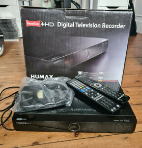 Humax HDR-FOX-T2 500GB Freeview & HD Digital Recorder – includes 2 remotes