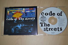 Gang Starr ‎– Code Of The Streets. CD-Maxi