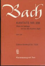 2 Bach Kantate NR 140 and NR 208