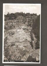 Vtg RPPC Postcard Stone Quarry Montello WIS WI 1964