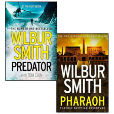 Predator and Pharaoh(Ancient Egypt) by Wilbur Smith 2 Books Collection Set NEW