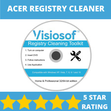 ACER PC Registry Cleaner Mechanic Tools Repair Recovery Windows XP VISTA 7 8 10