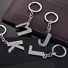 26 Initial Alphabet Keyring Letter Key Ring Shiny Alloy Rhinestone Key Chain Tag