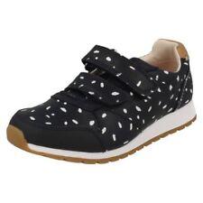 Calzado de niña zapatillas deportivas azul de piel