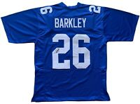 Saquon Barkley autographed signed jersey NFL New York Giants JSA COA Penn State