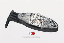 2 x LED BEGRENZUNGSLEUCHTE  - ROT + WEIß  / 136 x 40mm / UNTERBAU 12/24V