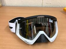 THOR SNIPER GOGGLES ADULT MX MOTOX MTB COLOUR CARBON WHITE BLACK WAS £50