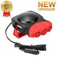 Car Heater,Portable Car Heater Plugs into Cigarette Lighter,12V 200W 3-Outlet