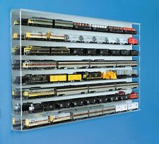 Winross,Ertyl Truck, 1/43 car, HO Train Display Case - Clear Back