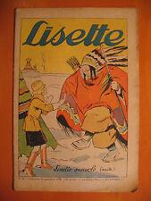LISETTE N° 39 du 25/09/1938 -18 ème année -éditions de Montsouris