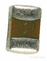 5 pezzi Condensatori Monolitici MLCC 1uF 50V 10/% 105 Murata M5E