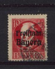 Bavaria 1919-20 SG#234A 10pf Optd Used