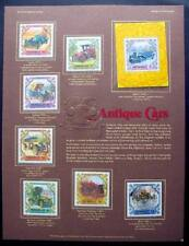 MONGOLIA CARS & SS STAMPS ART PANEL