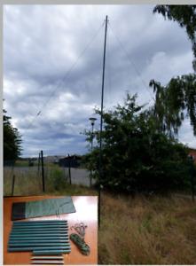 Dielektrisch Teleskopmast Mast Antennenmast Amateurfunk Kunststoff GFK funkmast