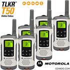 6 x Motorola Talker TLKR T50 2 Way Walkie Talkie PMR 446 Radio Sextet Pack White