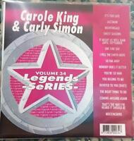 LEGENDS KARAOKE CDG CAROLE KING & CARLY SIMON OLDIES POP #34 16 SONGS CD+G
