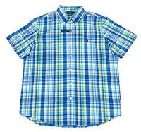 Ralph Lauren Men's Short Sleeve Classic Fit Performance Shirt In Multi Size L