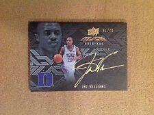 Jay Williams 2013 UD Black Original Autograph #31/75 Duke Blue Devils Bulls