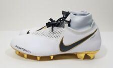 52b1849cf0b Nike Phantom Vision Elite DF FG LTD Mens Soccer Cleats White Gold Size 12
