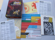 Vintage 1978 Swords & Sorcery Quest Fantasy Roleplaying Game Red Box Edition SPI