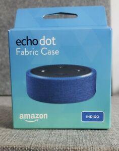 Amazon Echo Dot CASE 2nd Generation ONLY  Indigo Fabric