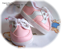 Reborn Babies Sporty Walker Shoes Pink or Blue 72mm -  REBORN SUPPLIES
