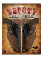 Deputy Double Holster Cap Gun Set