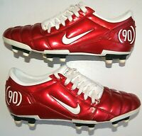 Cleats Nike Total 90 III FG 308231-612 Football Shoes Vintage Soccer Mens US 9.5