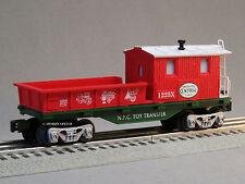 LIONEL NORTH POLE CENTRAL SANTA'S HELPER WORK CABOOSE train car 6-82545-C NEW
