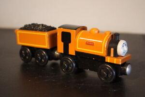 Thomas & Friends Wooden Railway Engine Duke & Tender (Coal Car)