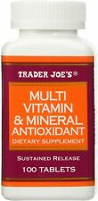 ⚡ Trader Joe's Multi Vitamin & Mineral Antioxidant Dietary Supplement NEW FS