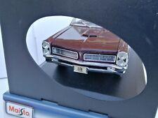MAISTO 1965 PONTIAC GTO HURST EDITION 1:18 DIE-CAST COLLECTION MIB RARE!!