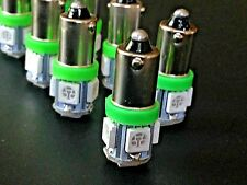 Fits Dodge Green MEGA BRIGHT 5 LED 12v Instrument Panel Clock SMD Light Bulb NOS