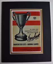Tony Book Signed Autograph 10x8 photo display Manchester City Football AFTAL COA
