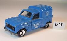Majorette 1/65 Nr. 230 Renault 4 L Telefon Frankreich Nr.1 #215