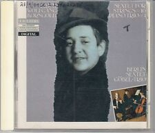 Erich Wolfgang Korngold Sextet For Strings Piano Trio Berlin Sextet Trio CD