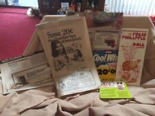 Lot 1981 Dole Pineapple Brochure /Ads Kellogg's Corn Flakes - Kraft Salad Dress