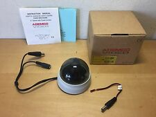 """New - Ademco Video Kamera - Fixed Mini Dome - 2 """" Dome With Fixed Lenses"""