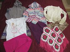 Crazy 8 by Gymboree & more clothing lot hoodies leggins top dress jacket size 14