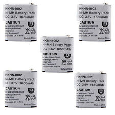 5X HKNN4002 KEBT-071A Battery for MOTOROLA FV300 EM1000 MC220 MJ270 MR350 MS350