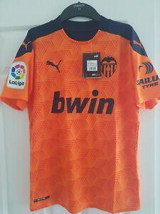 Valencia Away 20/21 Football Soccer Shirt Jersey size small s BNWT La Liga puma