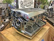 WEGA POLARIS 2 GROUP CHROME ESPRESSO COFFEE MACHINE CAFE CART LATTE MOBILE CAFE