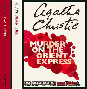 MURDER ON THE ORIENT EXPRESS BY AGATHA CHRISTIE 6 UNABRIDGED AUDIO CDS NEW SEALE