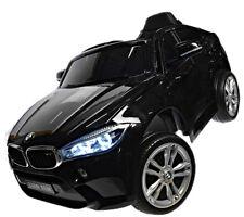 Kinderfahrzeug BMW X6M 12V Kinder Elektro Auto Kinderauto MP3 USB Ledersitz EVA