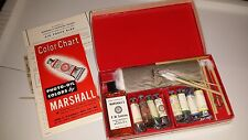 Vintage Marshall's Transparent Photo Oil Colors -- Student's Set